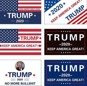 Keep America Grand drapeau 90 * 150cm 3x5FT Président Donald Trump 2020 Drapeau Donald pour le président bannière USA KKA7858