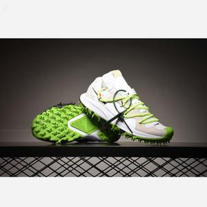 Nike Zoom Terra Kiger 5 Off-White White 2020 vendita pattini correnti degli uomini Spento Zoom Terra Kiger 5 CD8179-100 Atletico Verde Bianco sport esterno formatori Mens Sneakers
