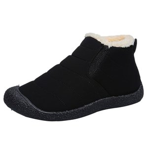 Karinluna 2019 Big Size 46 keep Warm Plush Russia For Cold Winter indoor outdoor Snow Boots Female Shoes Women Boots Woman Shoes