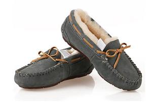 Vente chaude-Vente chaude Nouveau design classique Australie US GS Basse hiver chaussures chaudes bottes cuir véritable Bowknot bottes de loisirs de bottes pour femmes