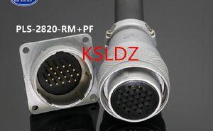 Free shipping lot (1 pieces lot)original New PLT APEX PLS-2820-RM+PF PLS-2820-RM-R PLS-2820-PFX-R 20PINS Aviation Plug and Socket Connect