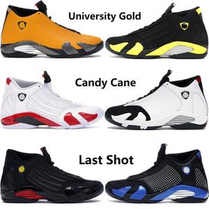 Or Université de haute qualité 14 14s chaussures de basket-ball Jumpman hommes SUP noir Formateurs blanc gymnase bleu royal tonnerre des hommes rouges US7-13