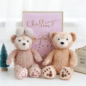 Nouveau mignon 1 pcs 43 cm Duffy Bear et Shelliemay Bear Plush Toy Peluche Animaux En Peluche En Peluche Doux poupée Pour anniversaire enfants jouet cadeau
