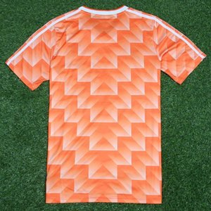 The 1988 World Cup Dutch national team retro jersey football manufacturers directly approved the Bergkamp van Basten