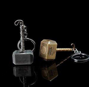 19styles Marvel Thor Hammer Anahtarlık Avengers Son Oyun Thor Silah Emaye Anahtarlık Keys For Men Araç Kadın Çanta Aksesuarları jssl01