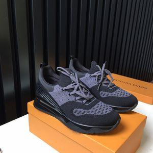 Versão VNR Sneaker O Ash Preto Técnico Knit Fornece Lightness flexibilidade e A Meia-like Fit Gradiente sola de borracha