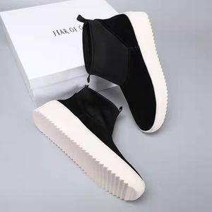 Fear God FOG Sixth Collection Zapatillas de skate de media altura Zapatillas de deporte para exteriores Kanye West para hombre Zapatillas de skate Top Botines para hombre