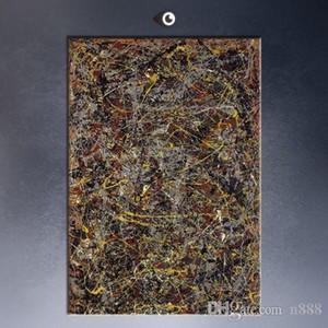 """Джексон Поллок """"Номер 5"""" 1948 ручная роспись HD печать домашнего декора стены искусства граффити абстрактная картина маслом на холсте jk11 200314"""