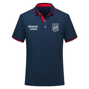 Thai qualità versione 2019 2020 In maglia da calcio 2019/20 FC Nantes Polo magazzino Ligue FC Nantes Calcio Polo maglie pullover di calcio