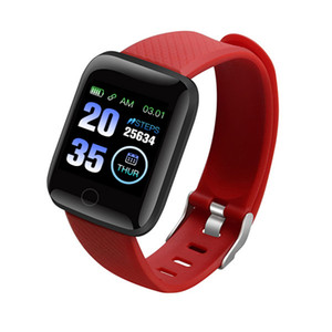 New Fitness Tracker ID116 PLUS Smart Bracelet with Heart Rate Smart