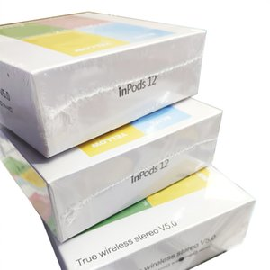 inpods 12 inpods12 tws auricolari senza fili Frosted sentono Touch Control Tws 5.0 Stereo I12 Mini Wireless auricolare auricolari auricolari Cheapest 12pc