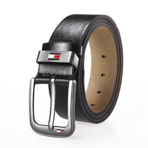 Fashion Leather Belts for Mens Casual Retro Pu Microfiber Leather Belt Washed Belt Men's Leather Belt Factory Direct Wholesale