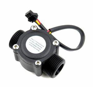 """Flowmeter 3 4"""" External threads 1-60L min Water Flow Sensor Flowmeter Hall Flow Sensor Water control"""
