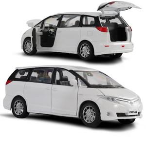 Heißer Verkauf der hohen Simulation Toyota Previa Modell 1:32 Legierung ziehen Auto-Spielzeug, Metalldruckguss Modellfahrzeug, Großhandel T200417