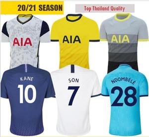20 21 Spurs homme et enfants soccer Accueil Jersey 2020 Kits 2021 Tottenham Kane Son Alderweireld Eriksen Dele enfant adulte maison loin de football T-shirt