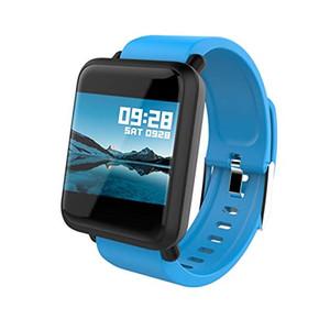 Akıllı İzle Büyük Ekran Nabız Kan Basıncı Kan Oksijen SPO2 Çok Spor Modu Yüzmek Smartwatch IP67