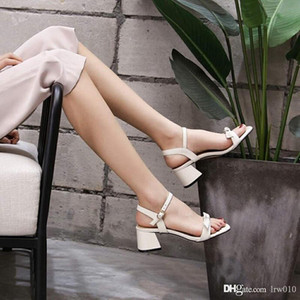 2020 new women's sandals luxury designer shoes explosion style high heel fashion casual bow leather top quality with box