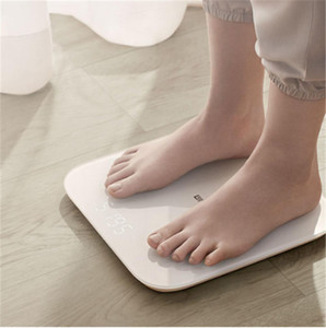 Original Xiaomi Youpin Mi Smart Poids Balance 2 Balances de la salle de bain Digital Electronic Poids Poids Bluetooth Fitness Terrain à LED Screen Bébé Animal APP Z