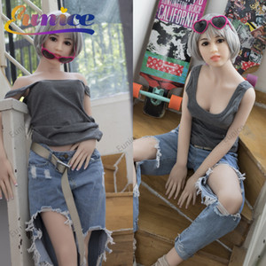 145cm real silicone sex dolls robot japanese anime full oral love doll realistic adult for men toys big breast sexy mini vagina