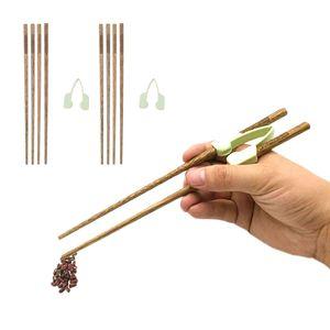 Anti-Slip Training Chopsticks Helpers Individually Eating Aid Chopsticks