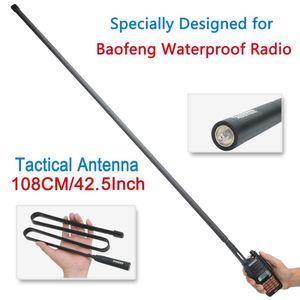 montão Walkie Talkie Parts Acessórios Exército ABBREE dobrável Tactical Dual Band VHF / UHF 144 / 430MHz Antena Para Baofeng UV-XR UV-9R Além disso Ra ...