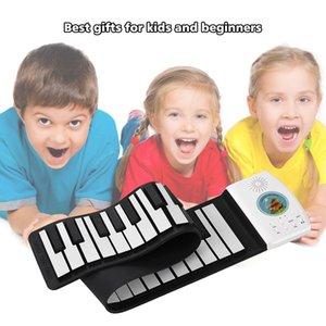 متعدد الوظائف البيانو 49 مفاتيح الرقمية المحمولة نشمر البيانو لوحة المفاتيح المدمج في سعة كبيرة البيانو لوحة المفاتيح البطارية الكهربائية