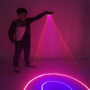 Blu Verde rosso Guanti Laser per DJ Dancing Club Vero Blu rotante LED Guanti luce pub partito Laser Show