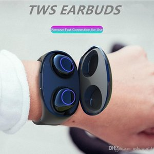 Mini TWS Bluetooth 5.0 Earphone Wireless Headphones For Phone Watch Band Charging Bluetooth Wireless Stereo Sports Earbuds