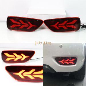 Juli König LED-Lichtleiter Bremsleuchten + Nacht treibende Lichter + Streamer Blinker Lichter Tasche für Nissan Patrol Y62 2011-2019