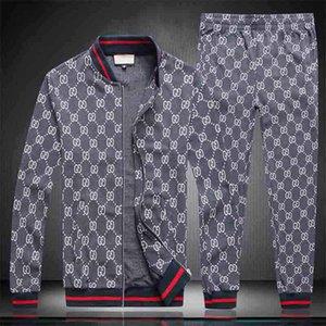 Paris Europe and the United States full zip sweatshirt couple classic Medusa sportswear jacket American new Medusa men's sportswear QW369