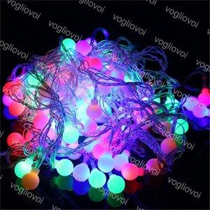 LED Strings Su geçirmez 3M 20 LED Toplar Globes Peri Işıklar AC220V AB Tak Parti Düğün Noel Bahçe Açık Dekorasyon DHL