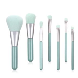 7pcs set Makeup Brushes Set For Cosmetic Foundation Powder Foundation Eyeshadow Make Up Brush Beauty Tool