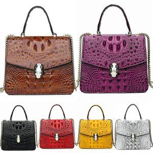 Designer-Fashion New Women Crocodile Shoulder Bag And Large Capacity 4 1Pcss Bag Set Casual Lady Crossbody Bag Designer#316
