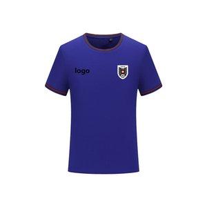 Austria Men's T-shirt fashion football jersey short-sleeved T-shirt men's sports football polo shirt solid color cotton men's T-shirt