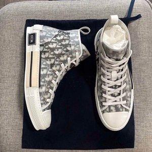 Díor Oblique Homme X KàWS By Kìm Jones B23 Men Women Fashion Designres Triple S Повседневная Обувь Высокие Кроссовки 36-45
