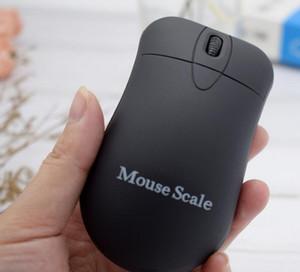 Fare Şekil Mutfak Scales 200g 0,01 g 500g / 0.1g karat pırlanta Lab 0.01 Gram Hassas seç için Taşınabilir Dijital Takı Araba Anahtarı Ölçeği