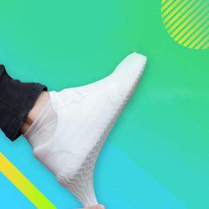 Открытые латексных Бахилы Силиконовых Велоспорт Дождевой обувь бахилы многоразового водонепроницаемое Утолщение Покрытие износ ноги Обложка Protect