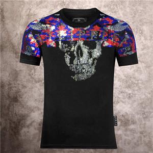 Erkekler Kadınlar Grafik Kafatası Tees Yaz Hediye P Tshirts Sokak Gotik Retro Stil Üst Artı boyutu Yaz Pamuk Kaykay t gömlek P02