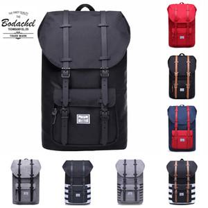 2018 Bodachel Sırt Çantası Little America Erkek Çanta Okul bagpack Büyük Kapasiteli Bilgisayar Dizüstü sırt çantası 24L Stil sırt çantası MochilaMX190903