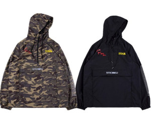 Mens Designer Jack hoodies Camouflage Travis Scott Cactus Veste Sourire Terre Casual Windbreaker High Street Fashion Marque Sweat-shirt