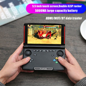 Powkiddy X18 Andriod jeu portable Console 5.5 INCH 1280 * 720 écran MTK8163 RAM quad core 2G 16G ROM vidéo portable Game Player gratuit DHL
