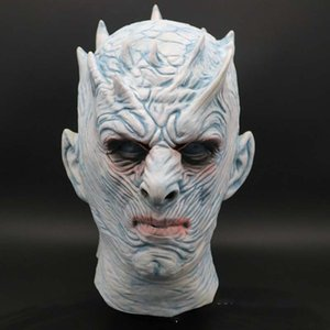 Game of Thrones Halloween Masque Latex Zombie King Visage Nuit Masque pour adultes cosplay costume Parti Maquillage performance mascarade masque