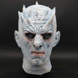 Game Of Thrones Halloween König Gesicht Zombie Latex Maske Nacht Maske für Erwachsene Cosplay-Kostüm-Party Make-up Leistung Maskerade Maske