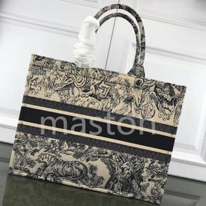 2020 C حقيبة تسوق الكرز زهر الزهور cavans كتاب مستحضرات تجميل bookbags حقيبة يد مصمم D المطبوعة حقيبة مطرزة ذات سعة كبيرة newaab7 #