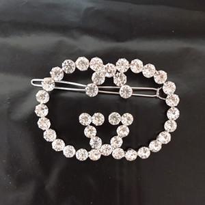 Frauen Strass Buchstabe G Haarspange Buchstabe Haarspangen Luxus Haarschmuck Geschenk für Liebe Freundin Epacket Versand