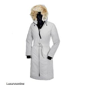 Raccoon Fur Women Winter Jacket Windbreaker Clothes Fashion Womens Luxury DESIGNER Jackets Down Jacket Long Parka Doudoune Homme