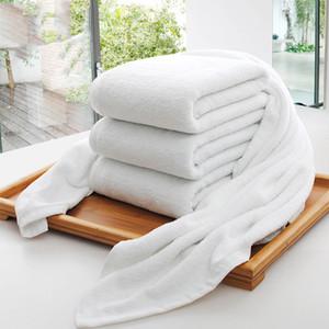 도매 호텔 목욕 타월 게스트 하우스 100 % 코튼 화이트 타올 남여 사용법 자연 치유 타올 부드러운 욕실 용품 DH0710
