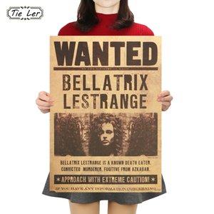 التعادل لير هاري بوتر أراد Bellatrix Lestrange خمر ريترو كرافت ملصق ديكور لوحات 42x30 سنتيمتر