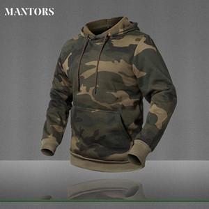 Mens manga comprida camisola do Hoodie Camouflage Hat Casual Mens Fleece Hoodies Moletom Masculino com capuz masculinos capuz marca de roupa
