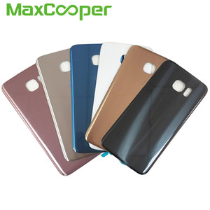 10PCS Lot Top Quality For Samsung Galaxy S7 Edge G935 G935F  S7 G930 G930F Battery Cover Rear Back Housing Door With Adhesive